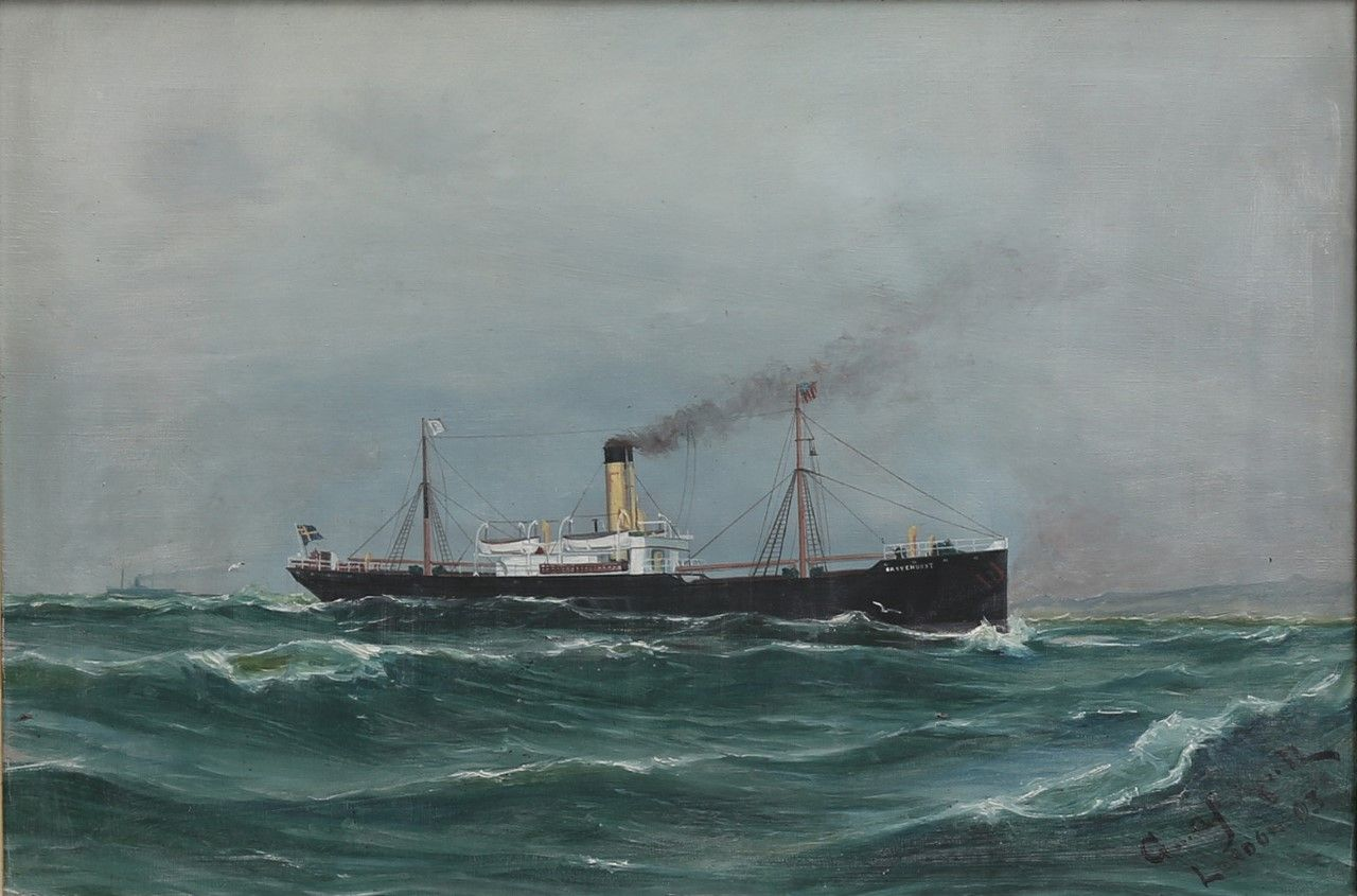 "SHIP PORTRAIT, ""GROVEHURST"