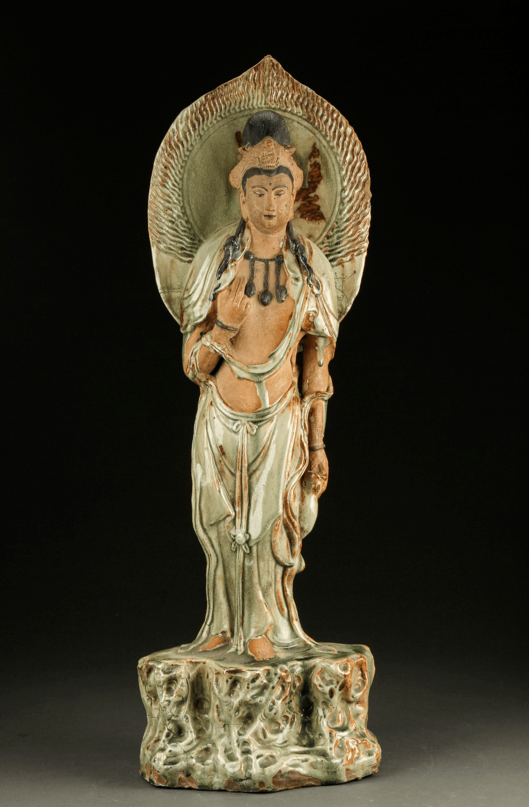 Chinese Glazed Figure